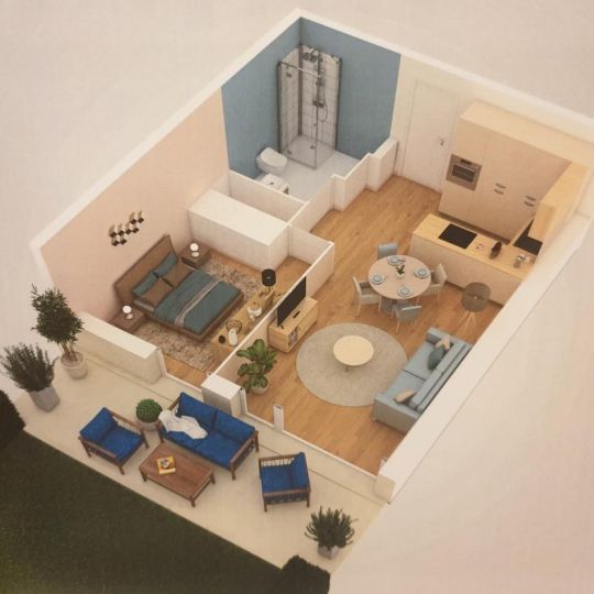 Terra d'oc immo : Appartement | CLERMONT-L'HERAULT (34800) | 39.00m2 | 147 000 €